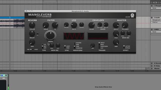 دانلود پلاگین ریورب Audio Damage AD032 Mangleverb v1.0.