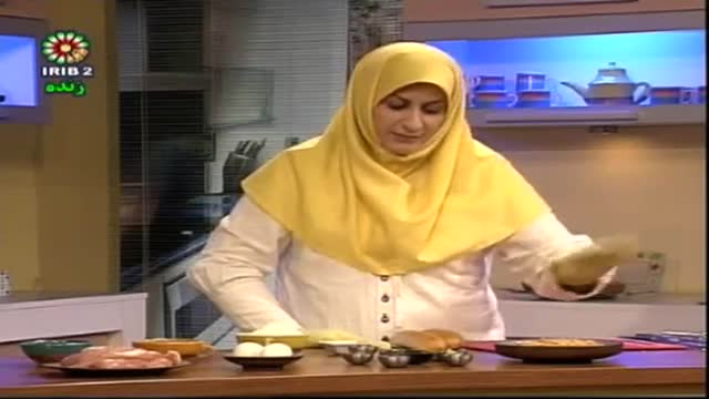 فیله مرغ اسپایسی و فیله مرغ پفکی-خانم کامیار.asf