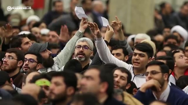 نماهنگی از دیدار مردم آذربایجان شرقی 1395/11/27