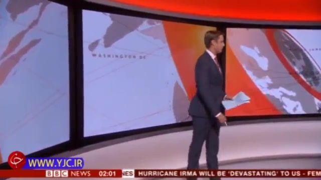 غافلگیری مجری بی بی سی در برنامه زنده