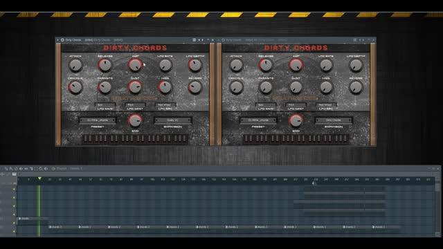 دانلود وی اس تی اکورد BeatMaker Dirty Chords v1.1 VST AU MAC/WiN