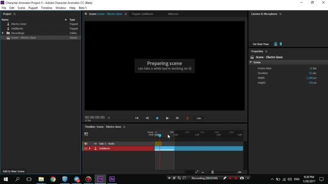 9- قسمت نهم - انتقال به افتر - آموزش Adobe Character Animator - سعید طوفانی