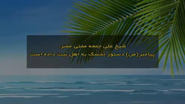 مفتی اهل سنت مصر: پیامبر دستور به تمسک به اهل بیت داده