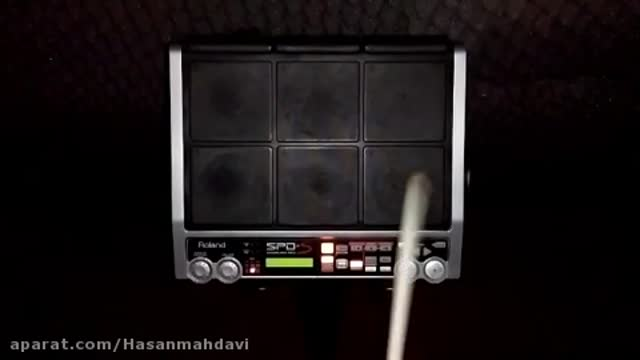 نمونه ریتم پرکاشن Spds آهنگ حامد پهلان باریکلا ساخته شده توسط حسن مهدوی