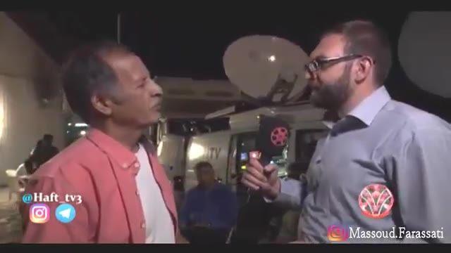 بازتاب -  خسرو نقیبی و محمد تقی فهیم بعد از میزگرد آسیب شناسی نقد در برنامه هفت