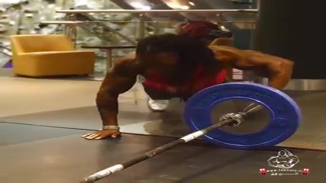 تقویت عضلات زیر بغل