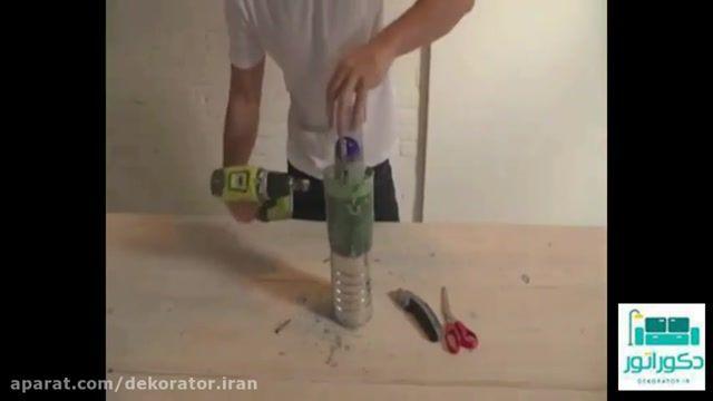 ساخت لوستر های بتنی زیبا برای دکوراسیون منزل