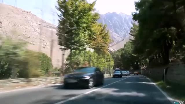 گشت زدن در جاده چالوس | پیچ و خم های جاده چالوس