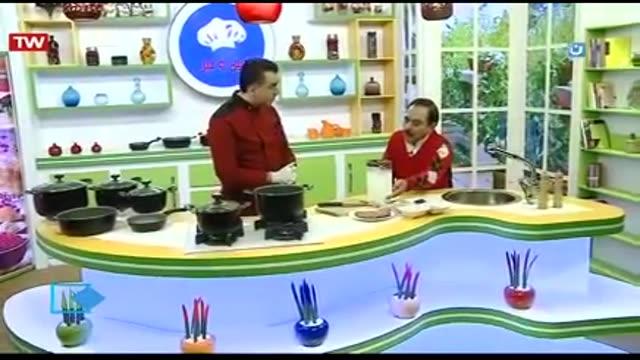 آموزش آشپزی آسان-دوغ پای زاهدانی با حضور رشید