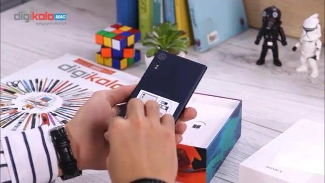 جعبهگشایی گوشی اکسپریا XZ سونی