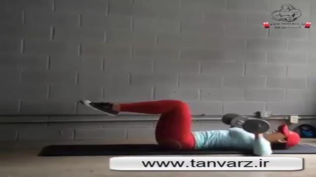 حرکات تقویتی برای عضلات شکم