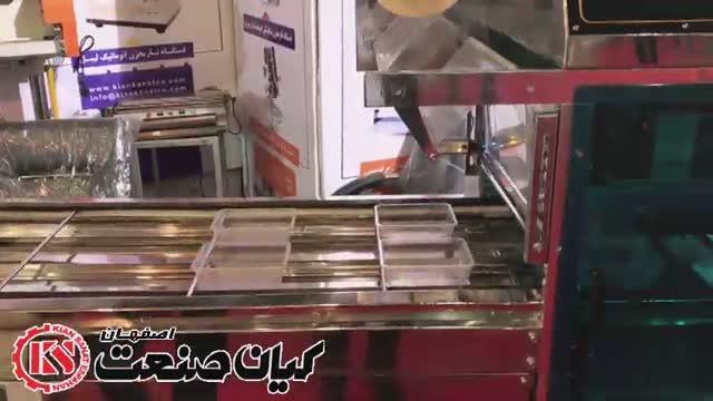 دستگاه سیل وکیوم تمام اتوماتیک محصول کیان صنعت اصفهان