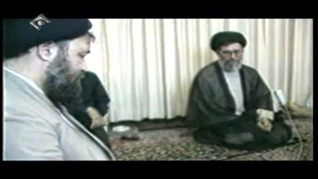 دیدار رهبر انقلاب با سید احمد خمینی