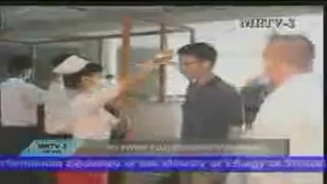 آنفلوانزای نوع آ-news about swine flu from Iran. (Farsi) -7/5/88