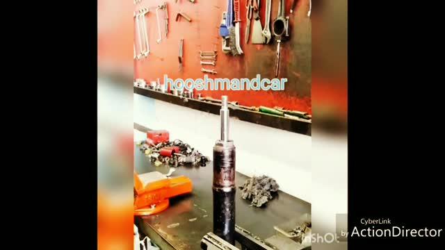 کمک گازی پژو 206 _ کمک فنر گازی sd