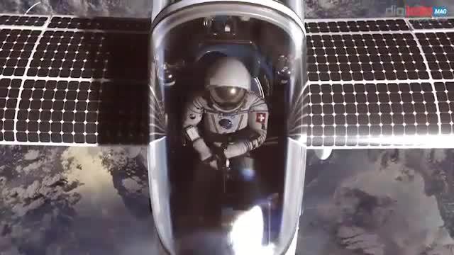 اولین هواپیمای خورشیدی دو نفرهی دنیا به مقصد مرز فضا