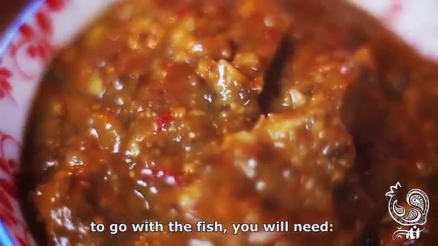 سبزی پلو ماهی وگان (تمپه) مخصوص شب عید انار سبز ☆ Vegan fish and rice with herbs special for norooz