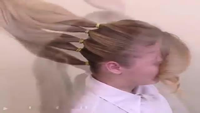 آموزش بهترین نوع شینیون های مو