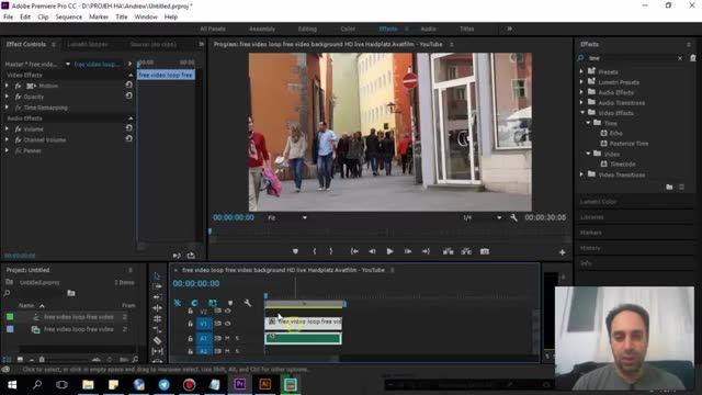 64- سعید طوفانی - Adobe premiere - افکت Posterize time در پریمیر