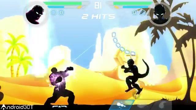 معرفی بازی اکشن مبارز سایه ها برای اندروید Shadow Battle