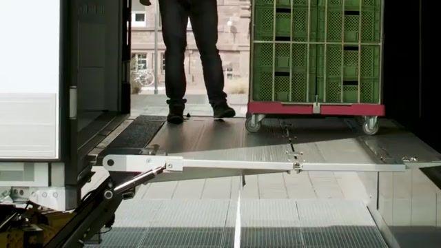 کامیون الکترونیکی actros , محصول جدید مرسدس بنز رونمایی شد !!!