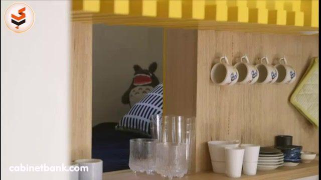دکوراسیون آشپزخانه کوچک با فضاهای فوق العاده