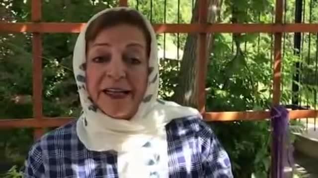 حمایت مرضیه برومند از حسن روحانی در انتخابات ریاست جمهوری ایران 96 Marzieh Boroomand Hassan Rouhani