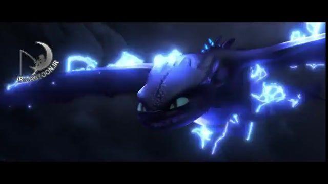 تریلر انیمیشن How To Train Your Dragon 3 : The Hidden World