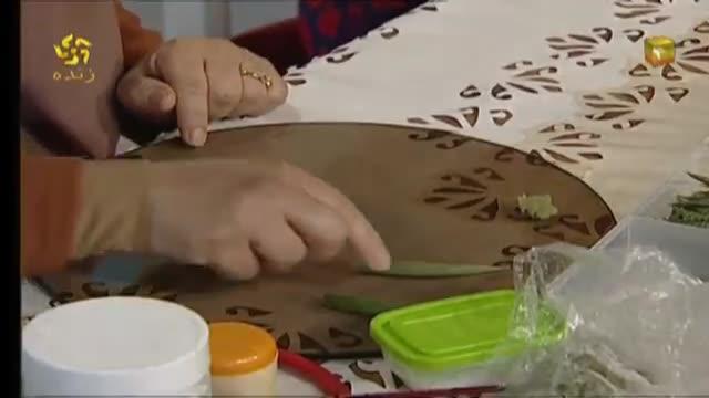 آموزش ساخت کاکتوس خمیری ( خانم اجاقی )