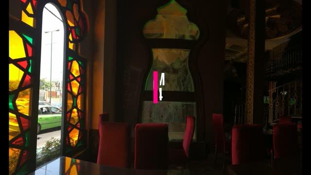 اجرای آبنمای حبابی ،آبنمای شیشه ای مدرن حبابدار ، حباب نمای در رستوران