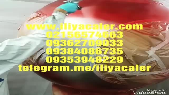 ساخت دستگاه کروم پاش ایلیاکالر02156574663