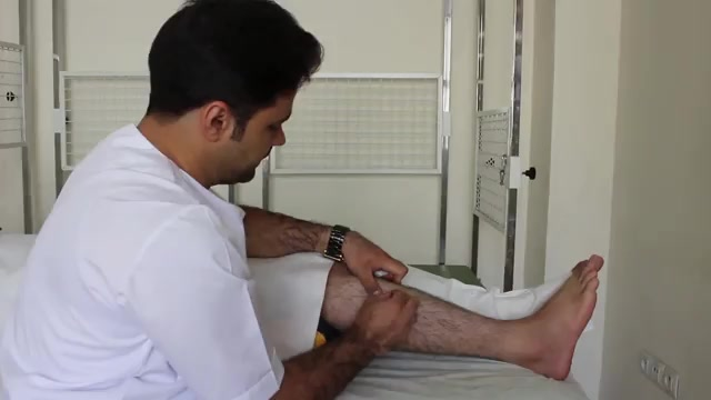 درمان طب سوزنی دردهای ساق پا به روش درای نیدلینگ در فیزیوتراپی آرامش سعادت آباد