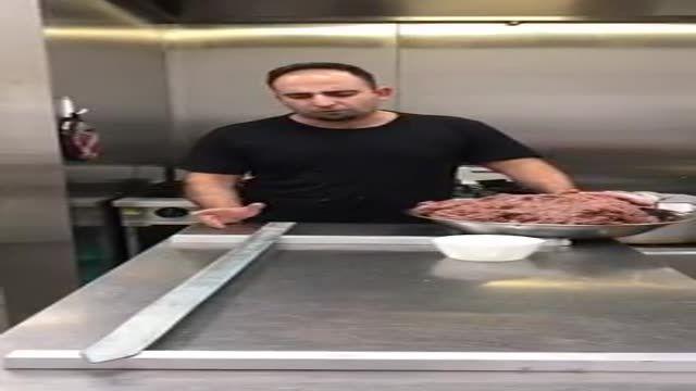 آموزش سیخ کردن کباب بناب همراه با جواد جوادیhow to make  kebab bonab