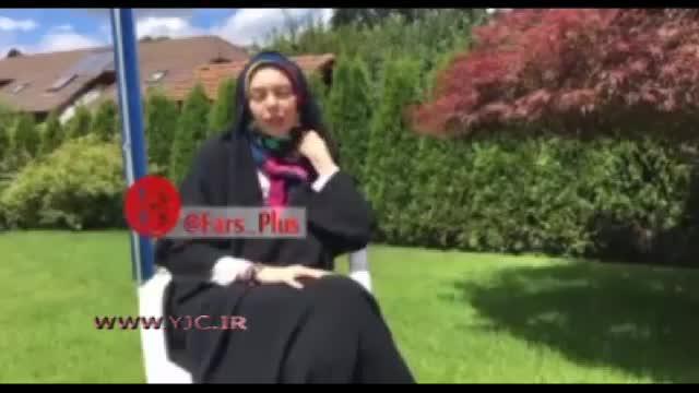 واکنش آزاده نامداری به انتشار تصاویر جنجالی بی حجابش در فضای مجازی