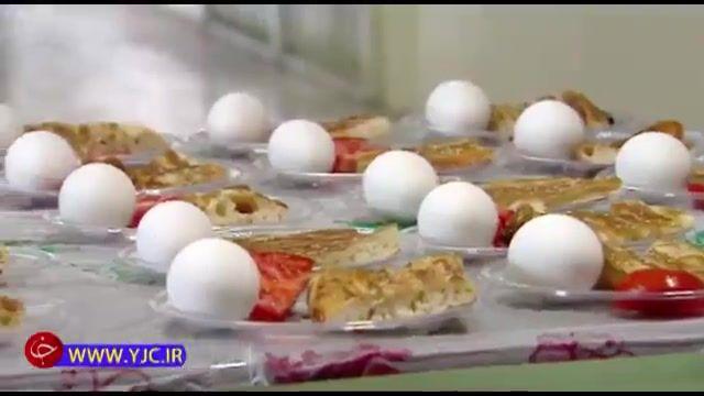 بیاهمیتی مردم نسبت به تخم مرغ در سبد غذایی و اقدام بعضی مدارس در این راستا