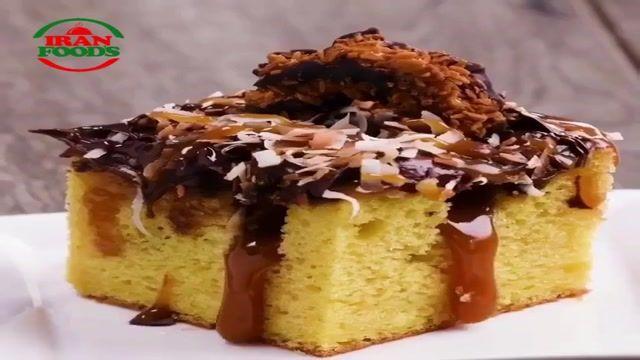 طرز تهیه کیک خوشگل و خوشمزه