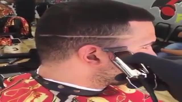 How to fade haircut men grooming haircut wآموزش مدل مو مردانه محو کردن و سایه زدن مردانه