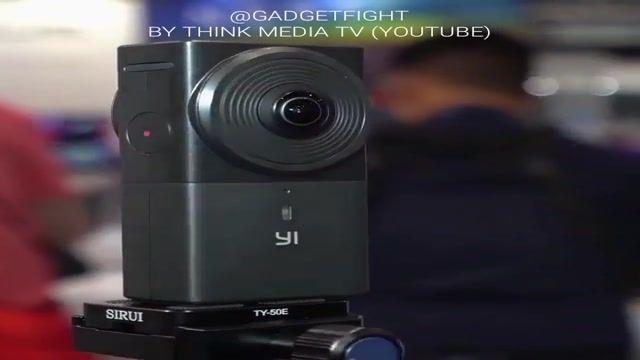 دوربین 360 درجه شیایومی yi با دو دوربین