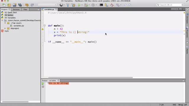 23- درمورد string در Python پایتون