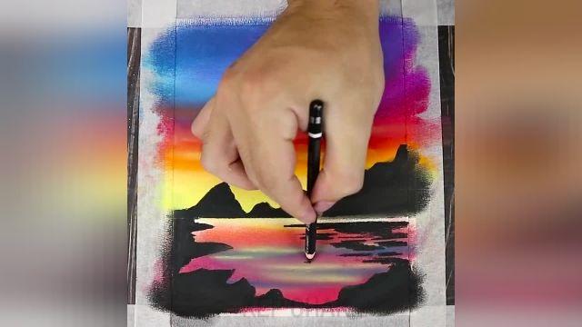 با 12 ترفند ساده هنری نقاشی حرفه ای و زیبا بکشید