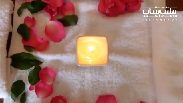 آموزش ماساژ با شمع