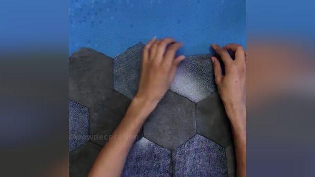 8 ترفند عالی تبدیل لباسهای جین قدیمی به صنایع دستی زیبا