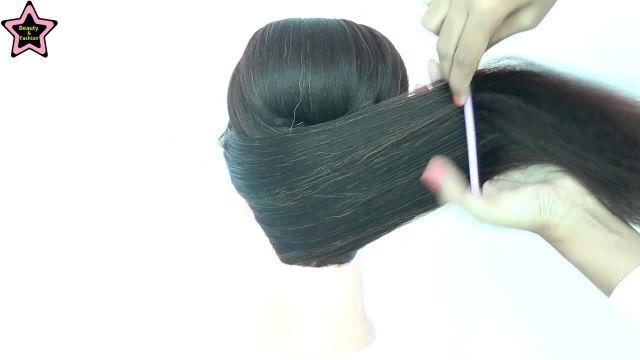 فیلم آموزشی شینیون بسته مو به سبک جدید و مدرن