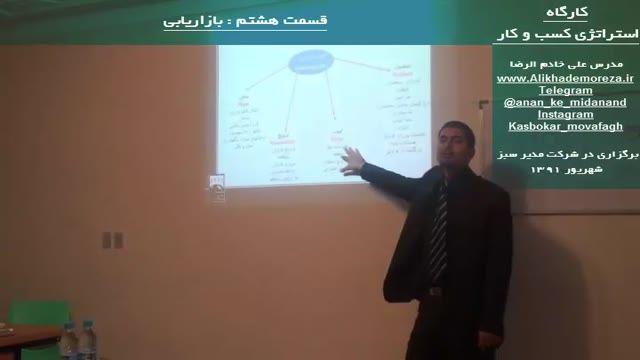 کارگاه آموزشی استراتژی راه اندازی و توسعه کسب و کار | علی خادم الرضا | قسمت هشت