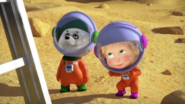 دانلود انیمیشن ماشا و میشا -  قسمت 647