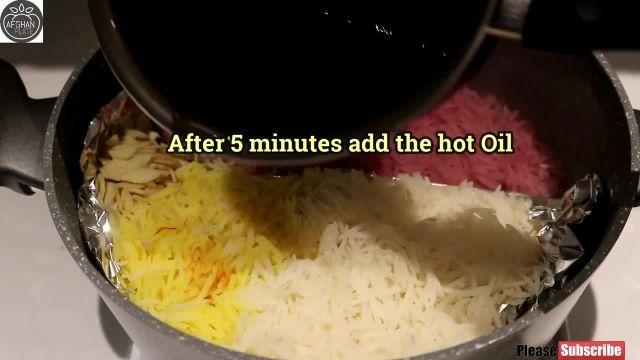 آموزش یاقوت پلو غذای خوشمزه افغانستان