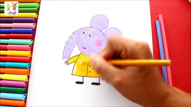 دانلود آموزش نقاشی کودکانه با زبان فارسی - امیلی فیله
