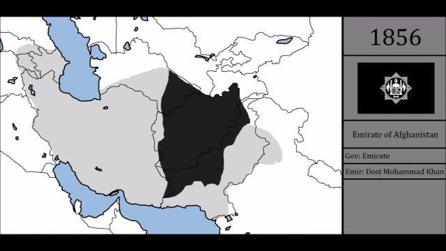 تاریخ افغانستان در 300 سال گذشته