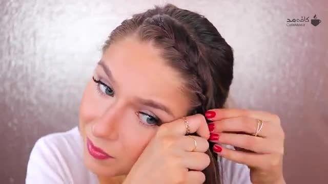 کلیپ پرکاربرد بافت جلوی مو برای زیر شال یا مقنعه