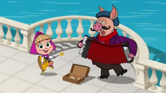 دانلود انیمیشن ماشا و میشا -  قسمت 639